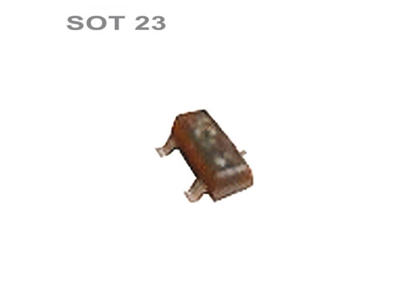 Tranzistor BC846B smd NPN 30V,0.1A,0.25W SOT23