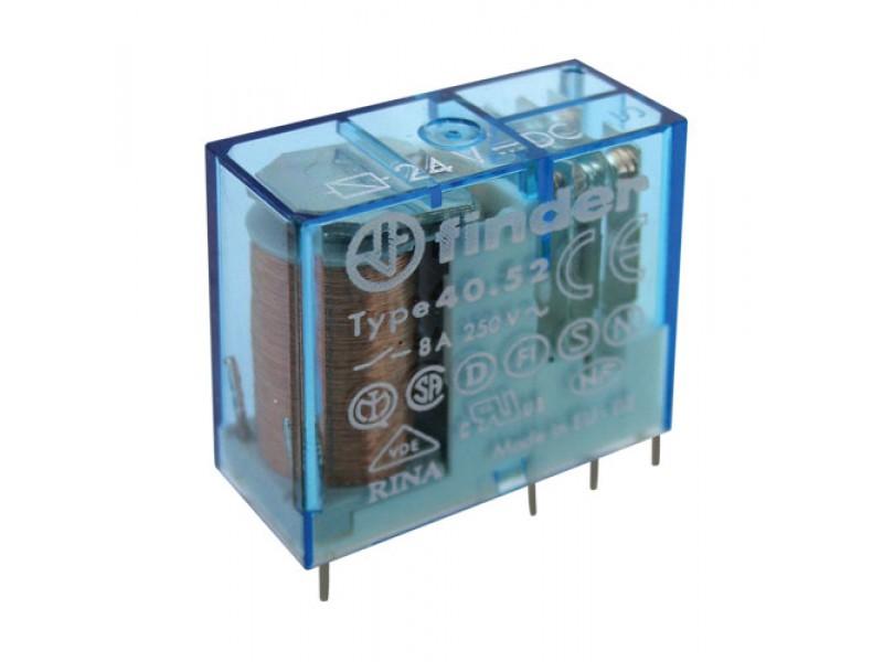 Relé 24V 8A/250VAC 2x přep. RELEF4052-24