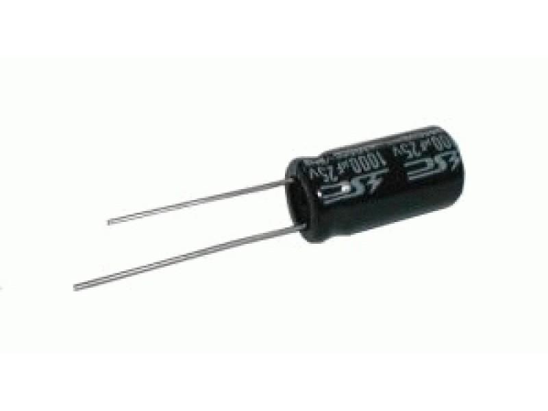 Kondenzátor elektrolytický 330M/50V 10x20-5 105*C rad.C