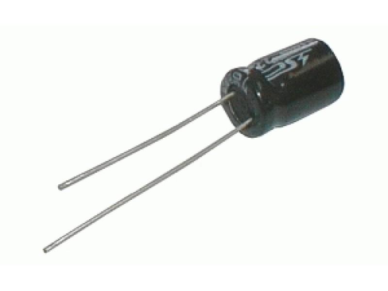 Kondenzátor elektrolytický 2M2/350V 8x14-3.5 105*C rad.C *