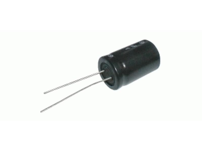 Kondenzátor elektrolytický 220M/160V 16x36-7.5 105*C rad.C