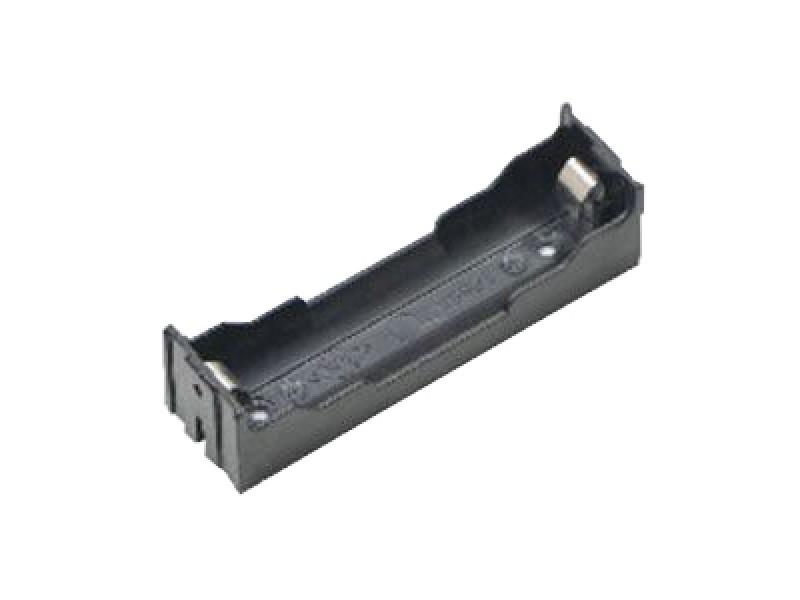 Puzdro batérie, článku 18650 do plošného spoja