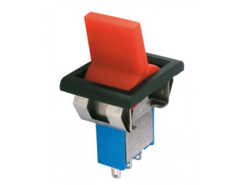 Prepínač páčkový 2pol./3pin ON-ON plastic/II 12V