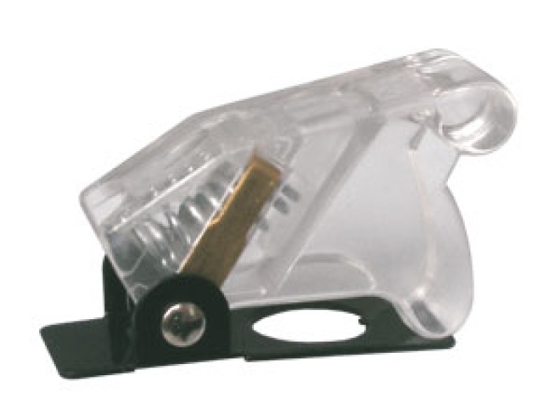Prepínač páčkový ochran.kryt - transp. biela