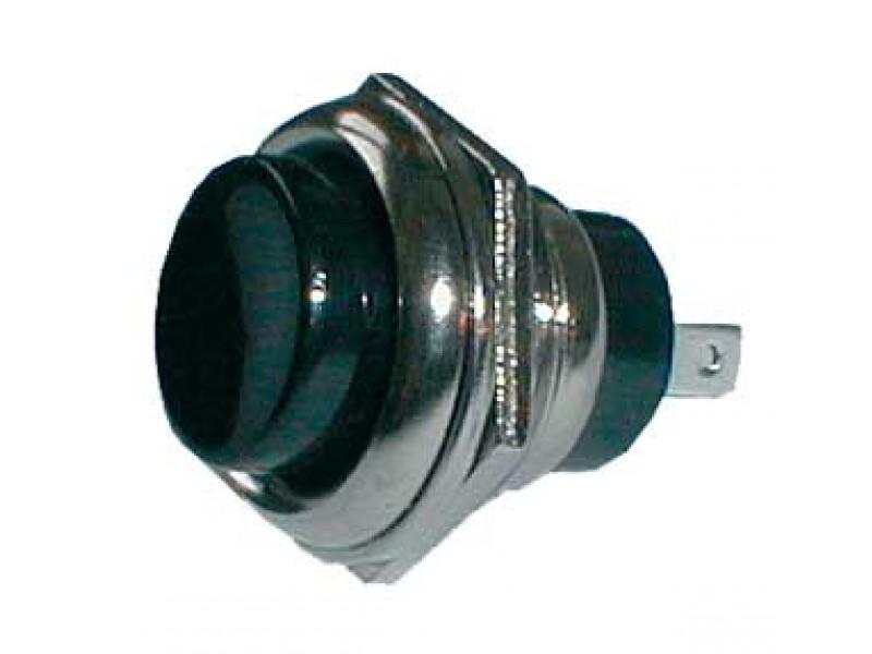 Prepínač tlačidlo okrúhle OFF-(ON) veľké čierne