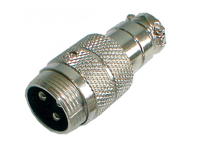 Konektor MIC kábel kov 3PIN skrutkovacie