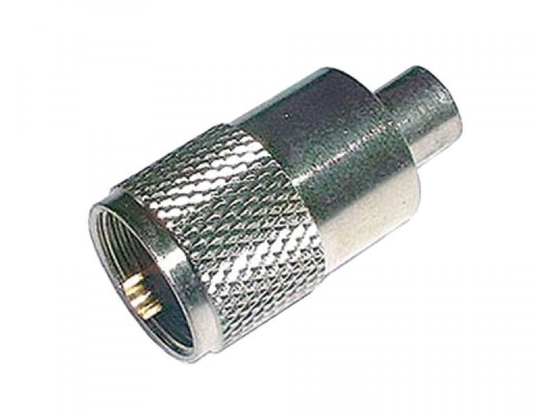 Konektor UHF (PL) kábel 5mm (RG58) samořez.-twist on