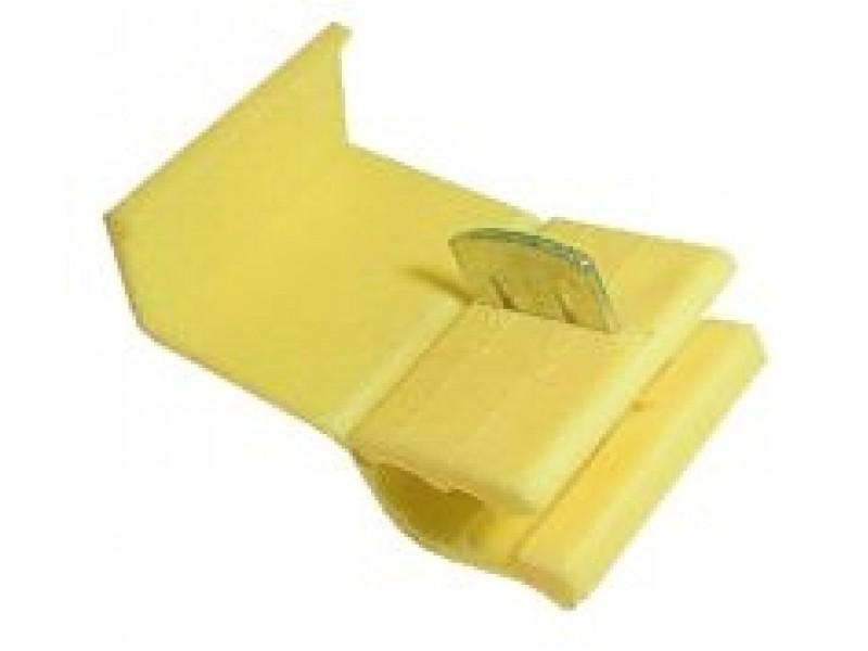 Spojka auto-rychlo. 2.5 -6.0 žltá TIPA