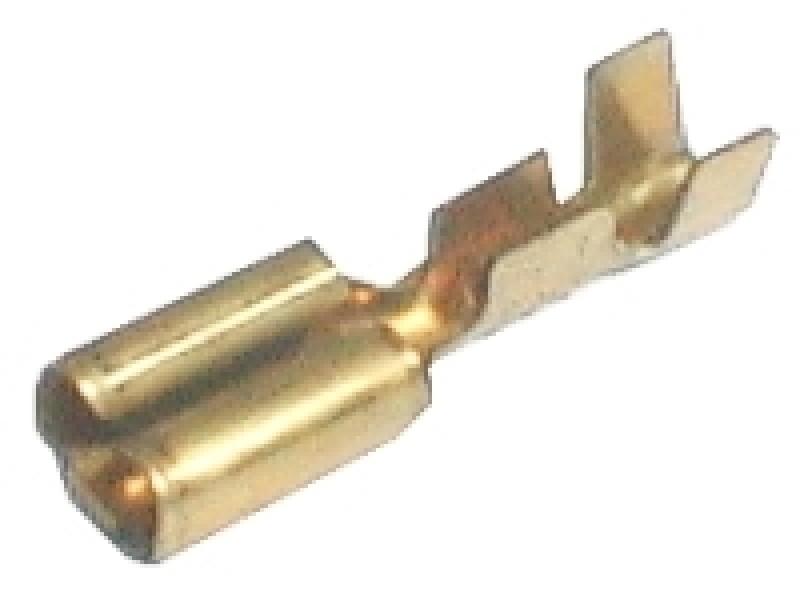 Zdierka faston neizolovaná 9.5mm 2-4mm
