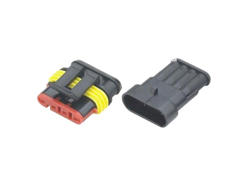 Konektor sa zdierkou DJ7041-1.5-11 + DJ7041-1.5-21 4P vodotesný