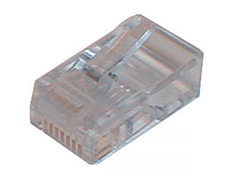 Konektor telefónny na kábel 4p-4c RJ10