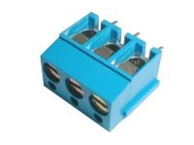 Svorkovnice 3x rozteč 5mm,v=12mm ploš.spoj