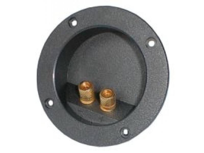 Reprosvorka RSA-3 2x guľatá zlatá pr. 74