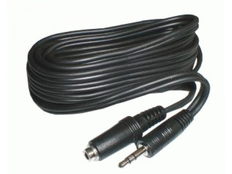 Kábel JACK 3.5 konektor/JACK 3.5 zdierka 3m