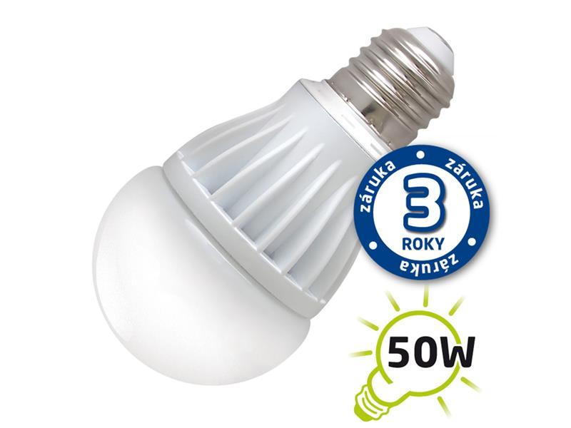 Žiarovka LED A60 E27 7W biela teplá (Al) TIPA