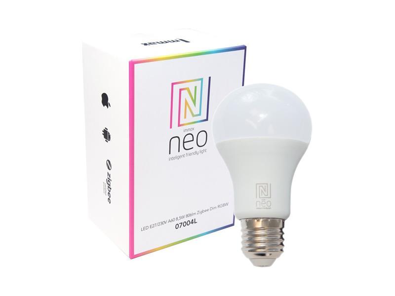 Múdra žiarovka LED E27 9W RGBW IMMAX NEO SMART ZIGBEE 3.0