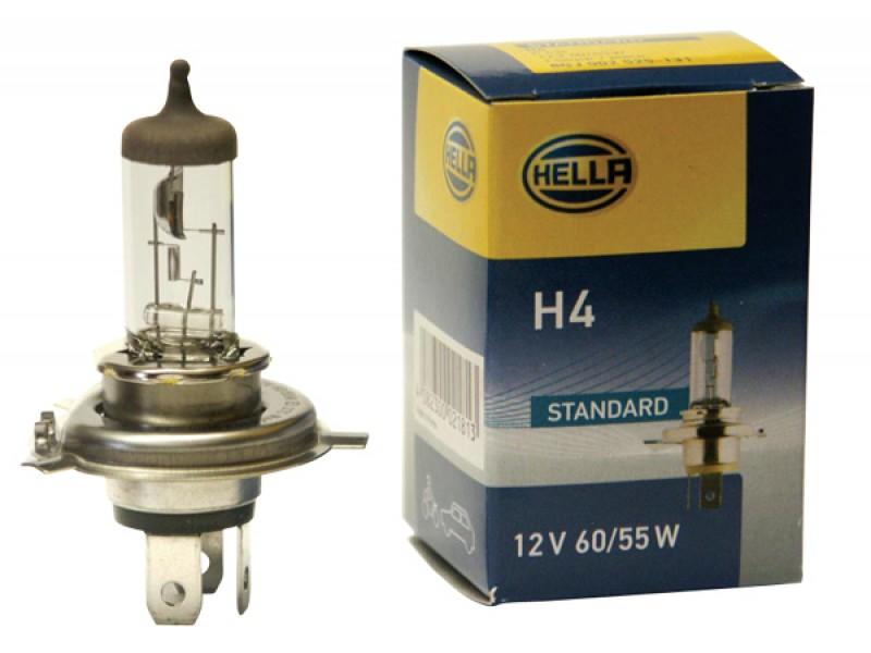 Autožiarovka halogénová H4 12V 60/55W HELLA