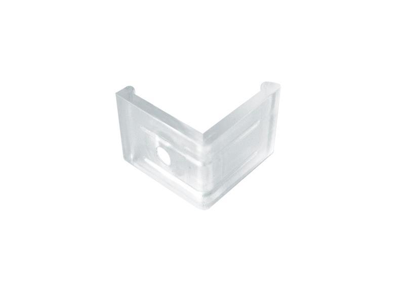Držiak profila AC2 rohový - plast