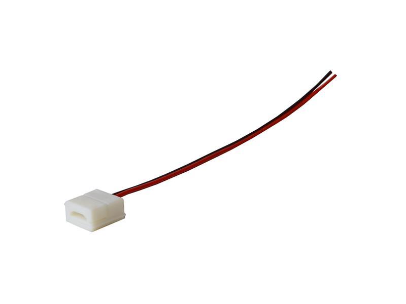 Konektor nepájivý s vodičem pre LED pásky o šířce 8mm 3528, 2835 IP65