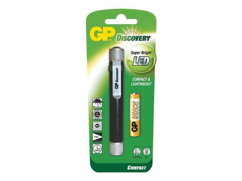 LED svietidlo GP LCE205 + 1 x AAA baterie GP Ultra
