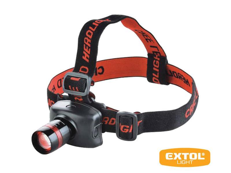 Svietidlo čelovka EXTOL LIGHT 43100