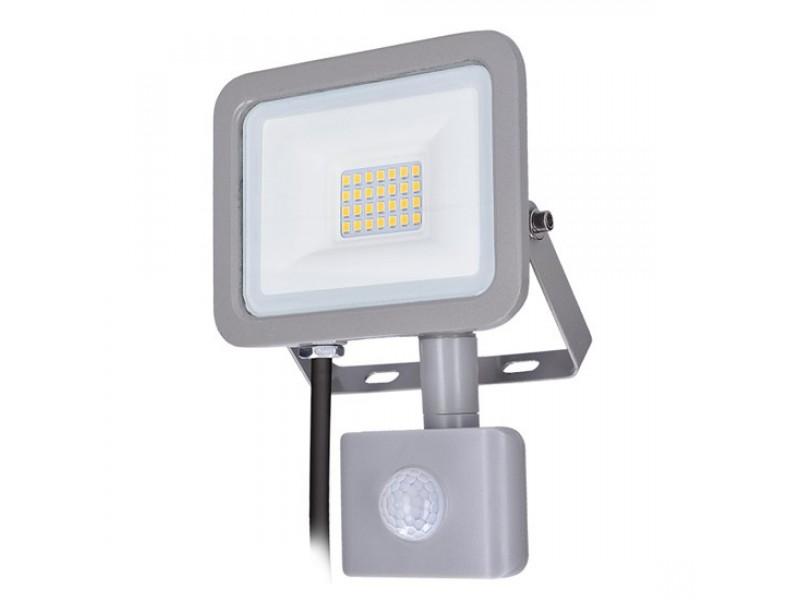 LED reflektor SOLIGHT WM-20WS-M 20W PIR