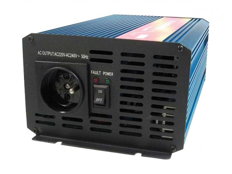 Menič napätia CARSPA P1000 24V/230V 1000W čistá sínusoida