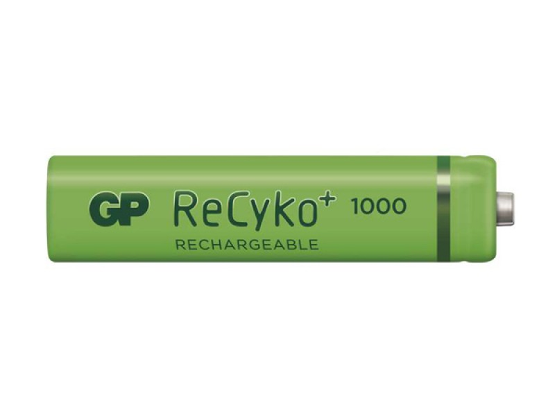 Batéria AAA (R03) nabíjací GP Recyko+ 1000mAh