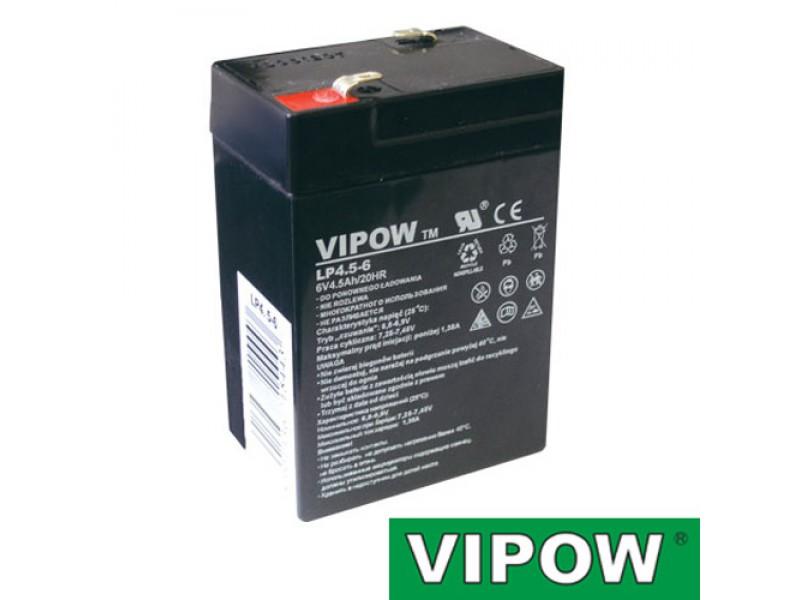 Batéria olovená 6V 4.5Ah VIPOW