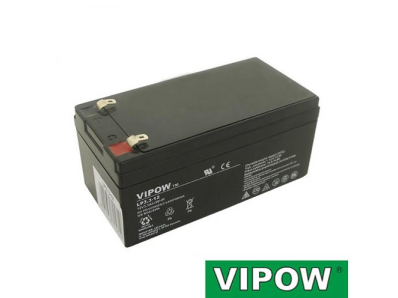 Batéria olovená 12V 3.3Ah VIPOW