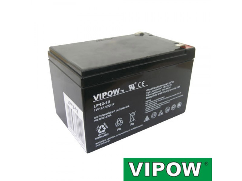 Batéria olovená 12V 12Ah VIPOW