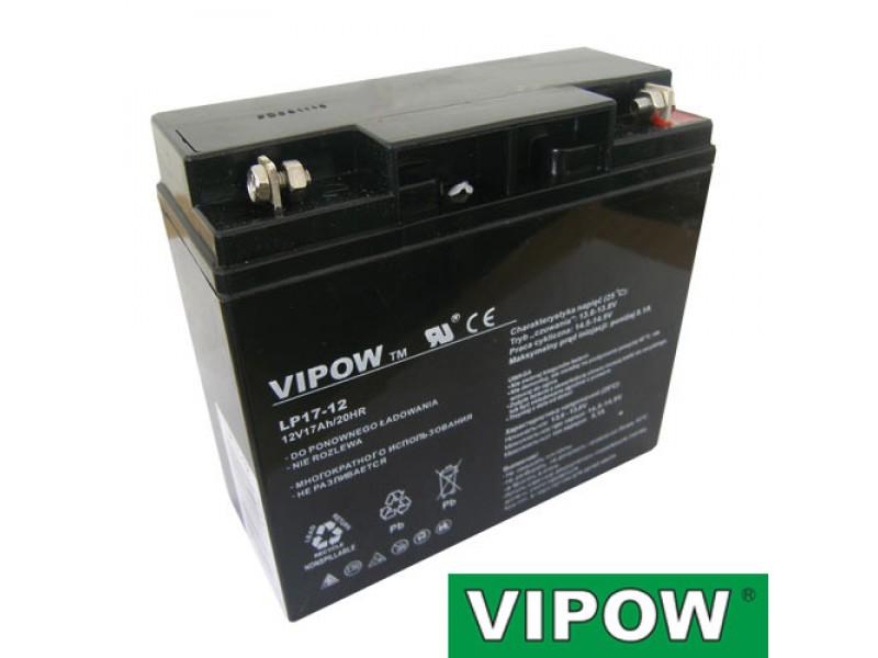 Batéria olovená 12V 17Ah VIPOW