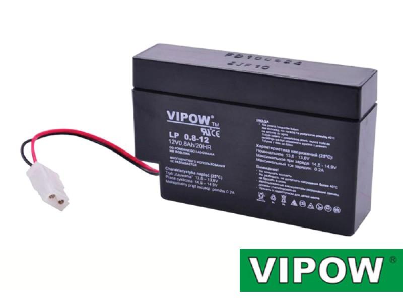 Batéria olovená 12V 0.8Ah VIPOW