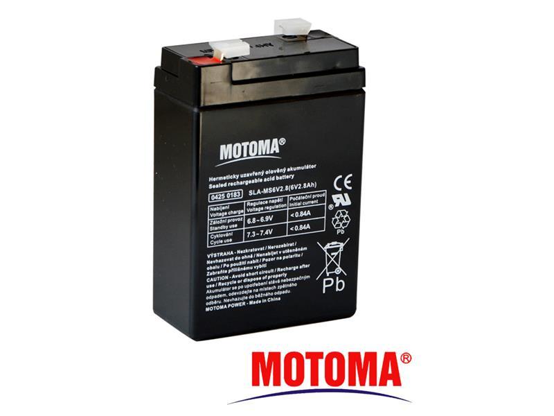 Batéria olovená 6V 2.8Ah MOTOMA
