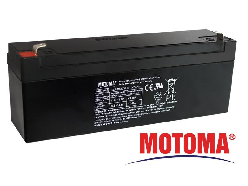 Batéria olovená 12V 2.3Ah MOTOMA