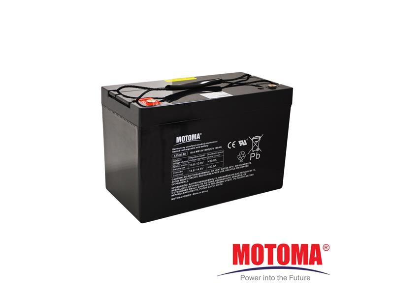 Batéria olovená 12V 100Ah MOTOMA pre soláry