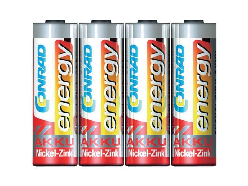 Batéria AA (R6) nabíjacia 1,6V/1500mAh CONRAD NiZn (blistr 4ks)