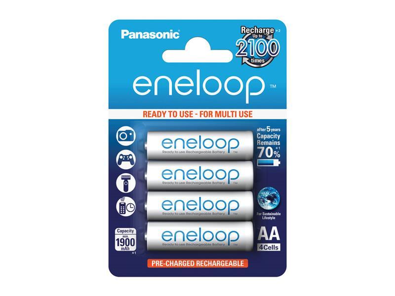 Batéria AA (R6) nabíjacia 1,2V/1900mAh Eneloop PANASONIC 4ks