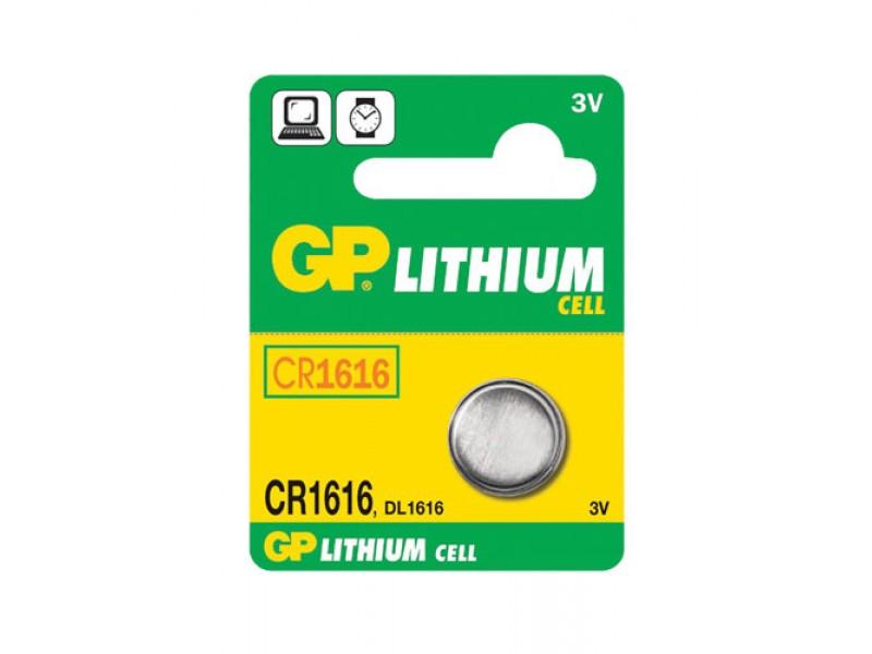 Batéria CR1616 GP lítiová
