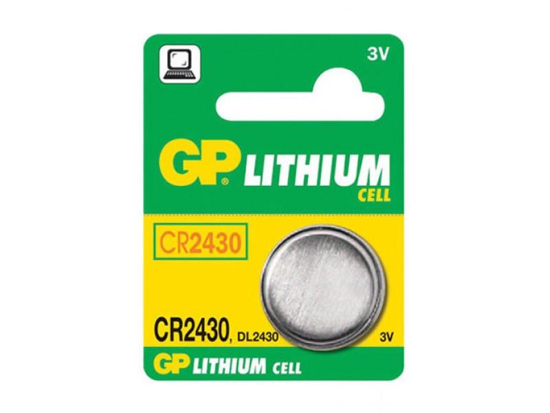 Batéria CR2430 GP lítiová