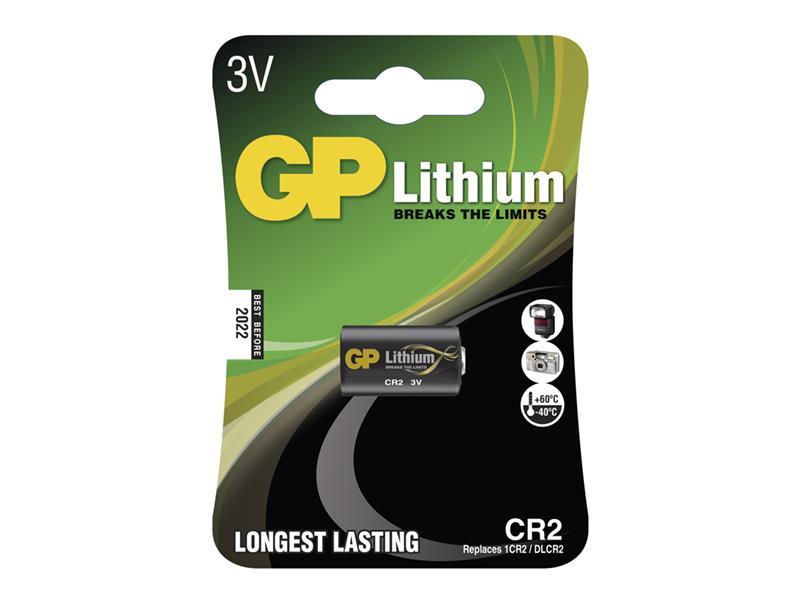 Batéria CR2 GP lítiová (foto)