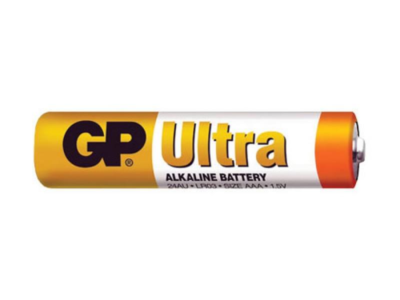 Batéria AAA (R03) alkalická GP Ultra Alkaline
