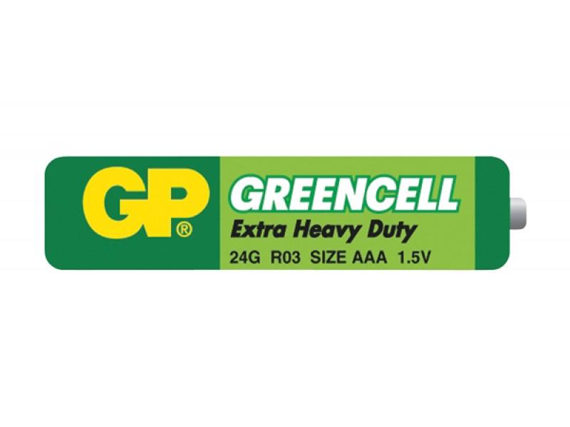 Batéria AAA (R03) Zn-Cl GP Greencell