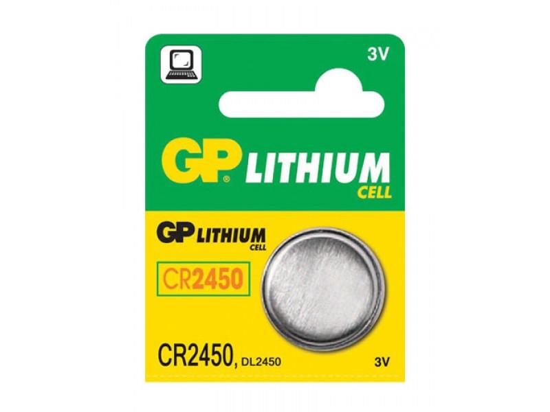 Batéria CR2450 GP lítiová