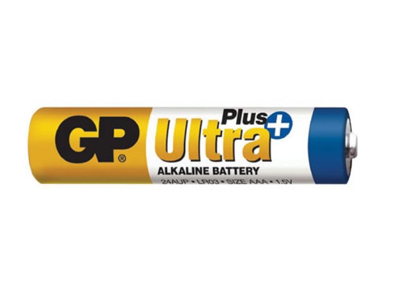 Batéria AAA (R03) alkalická GP Ultra Plus Alkaline