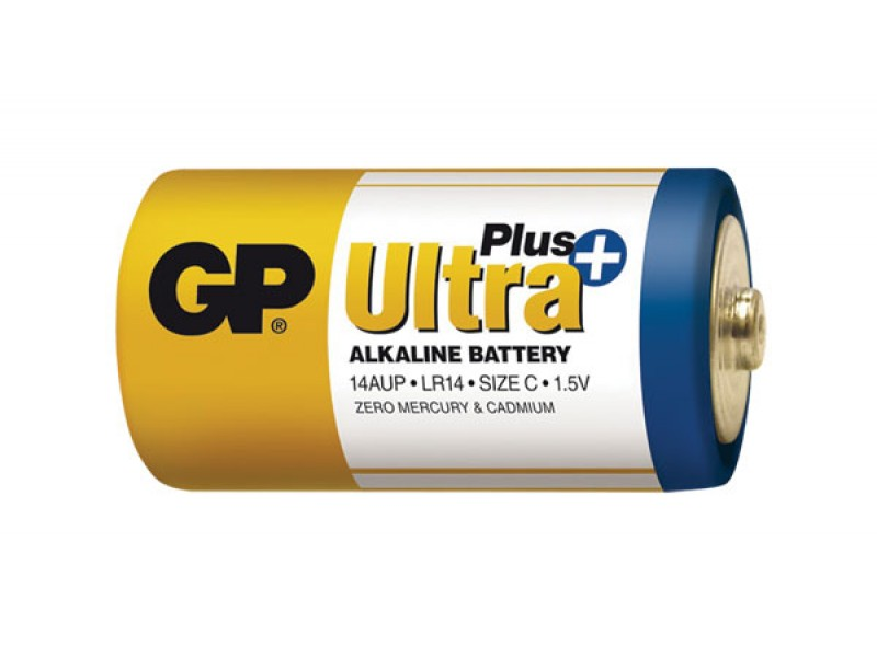 Batéria C (R14) alkalická GP Ultra Plus Alkaline