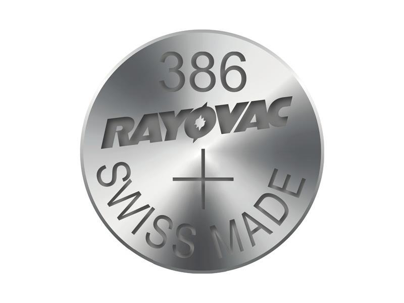 Batéria 386 RAYOVAC do hodiniek