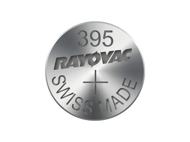 Gombíková batéria do hodiniek RAYOVAC 395