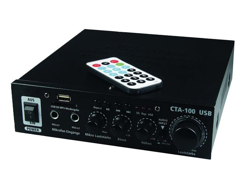 Zosilňovač CTA-100 USB