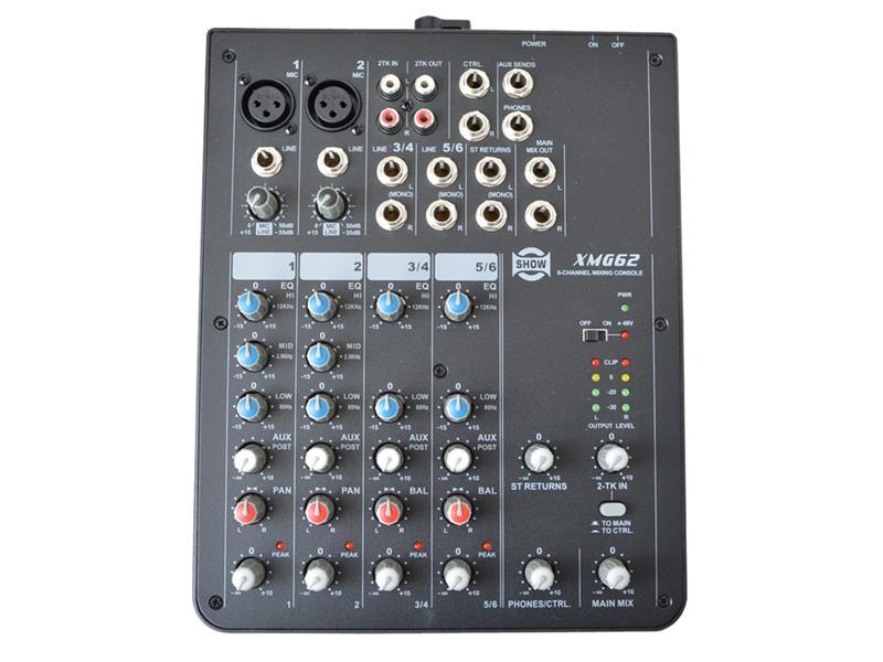 Pult mixážny SHOW XMG-62